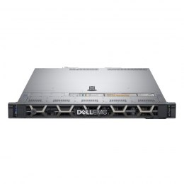 Dell PowerEdge R440 Rack (1U), Intel Xeon, 1x Silver 4210, 2.2 GHz, 13.75 MB, 20T, 10C, RDIMM, 3200 MHz, No RAM, No HDD, Up to 4