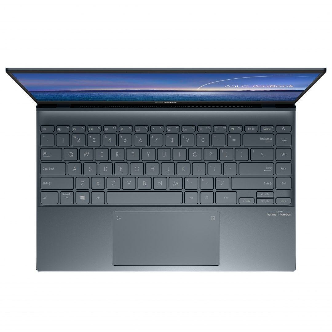 "Asus ZenBook UM425IA-HM103T Pine Grey, 14.0 "", IPS, FHD, 1920 x 1080 pixels, Matt, AMD, Ryzen 5 4500U, 8 GB, LPDDR4X on board, S"