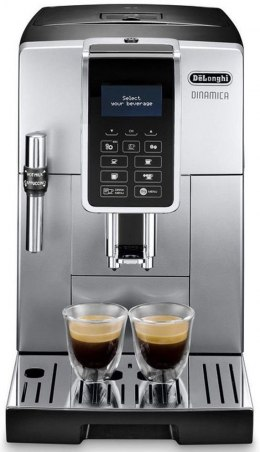 Delonghi Coffee Maker Dinamica ECAM 350.35 SB	 Pump pressure 15 bar, Built-in milk frother, Fully Automatic, 1450 W, Silver/Blac