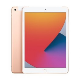 "Apple 8th Gen (2020) iPad Wi-Fi + Cellular 10.2 "", Gold, Retina touch screen with IPS, Apple A12 Bionic, 3 GB, 32 GB, 4G, Wi-Fi,"