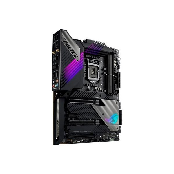 Asus ROG MAXIMUS XIII HERO Processor family Intel, Processor socket LGA1200, DDR4, Memory slots 4, Supported hard disk drive int