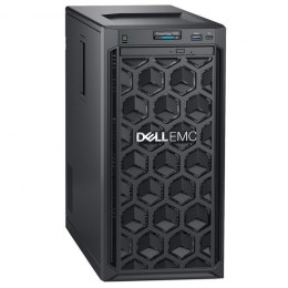 "Dell PowerEdge T140 Tower, Intel Xeon, E-2224, 3.4 GHz, 8 MB, 4T, 4C, UDIMM DDR4, 2666 MHz, No RAM, No HDD, Up to 4 x 3.5"", Embe"