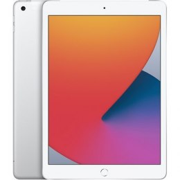 "Apple 8th Gen (2020) iPad Wi-Fi + Cellular 10.2 "", Silver, Retina touch screen with IPS, 2160 x 1620, Apple A12 Bionic, 3 GB, 1"