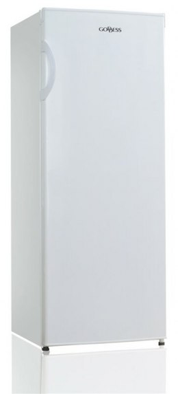 Goddess Freezer GODFSD0142TW8AF Energy efficiency class F, Free standing, Upright, Height 142 cm, Total net capacity 160 L, Whit