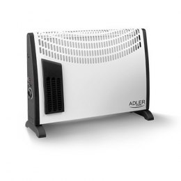 Adler AD 7705 Convection GRZEJNIK, Number of power levels 3, 2000 W, Number of fins Inapplicable, White