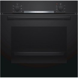 Bosch Oven HBA530BB0S Built-in, 71 L, Stainless steel, Eco Clean, A, Push pull buttons, Height 60 cm, Width 60 cm, Integrated ti