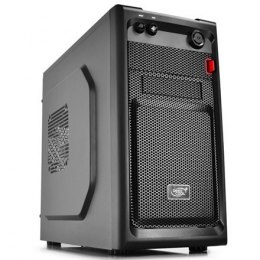 Deepcool Smarter USB 3.0 x1, USB 2.0 x 1, Mic x1, Spk x1, Black, Micro ATX, Power supply included No
