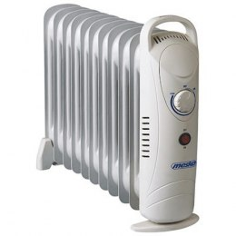 Mesko MS 7806 Oil Filled Radiator, 1200 W, Number of fins 11, White