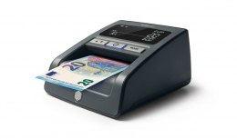 SAFESCA Money Checking Machine 155-S Black, Suitable for EUR, GBP, CHF, PLN and HUF, detection points 7, Value counting